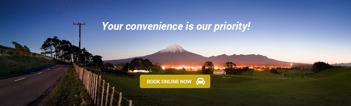 New Plymouth Airport Rental Cars based in Taranaki